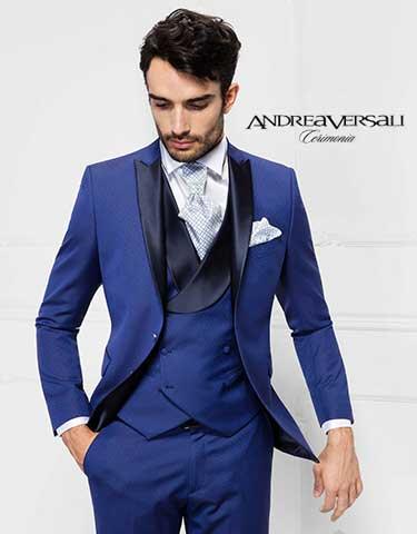 653e76a8b409 Andrea Versali abiti da sposo